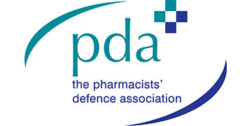 The Pharmacists' Defence Association (PDA) logo