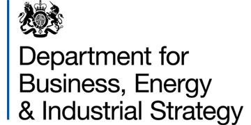 Department of Business, Energy and Industrial Strategy logo