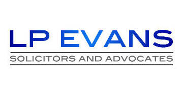 LP Evans Solicitors and Advocates logo